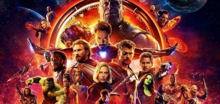 Avengers Wojna bez granic plakat