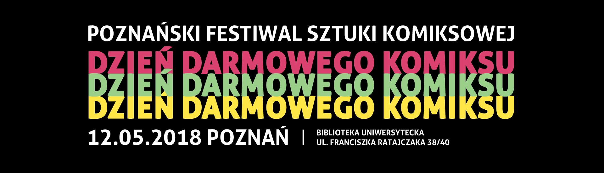 Dzień Darmowego Komiksu 2018 banner