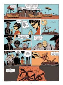 Plansza z komiksu Tyler Cross