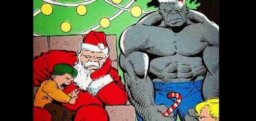 Hulk Santa