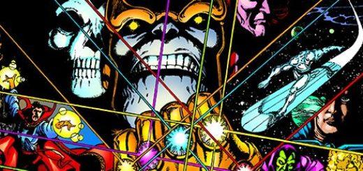 Rękawica nieskończoności - okładka komiksu