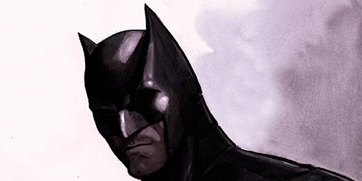 Batman Mroczny książę z bajki okładka - twarz Batmana w masce