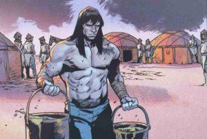 Conan barbarzyńca kadr 1
