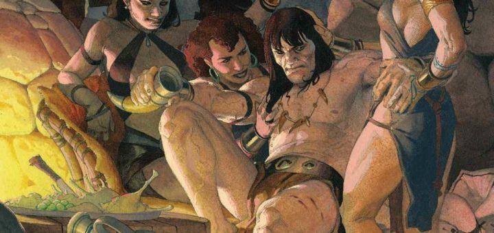 Conan barbarzyńca okładka