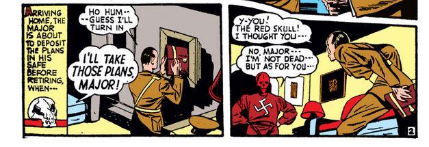 Kapitan Ameryka kontra Czerwona Czaszka 2