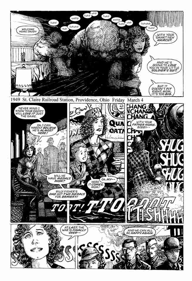 Barry Windsor-Smith Monsters plansza 1