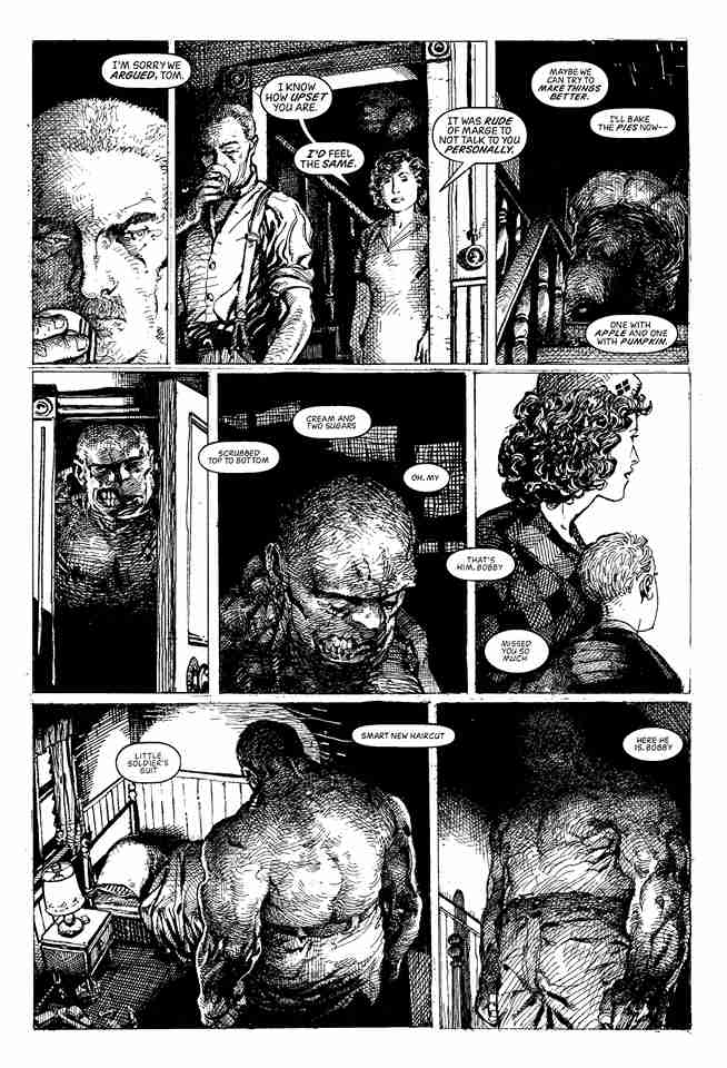 Barry Windsor-Smith Monsters plansza 2