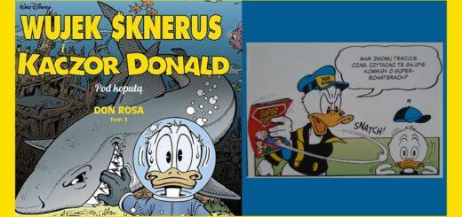 Wujek Sknerus i Kaczor Donald. Pod kopułą