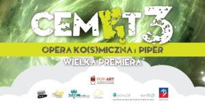Zaproszenie na premierę zina Cemęt 3