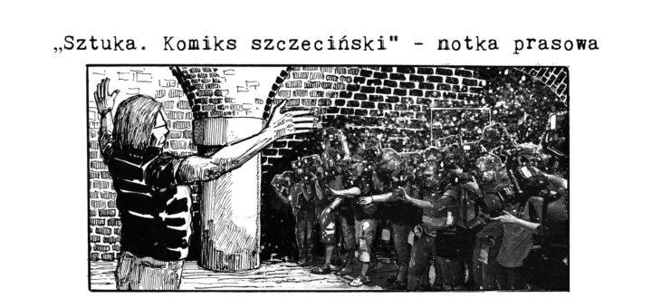 Sztuka. Komiks szczeciński notka