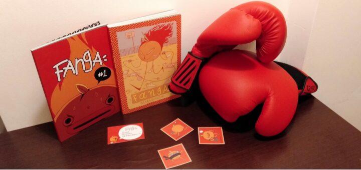 Fanga 1 i 2, naklejki, rękawice bokserskie