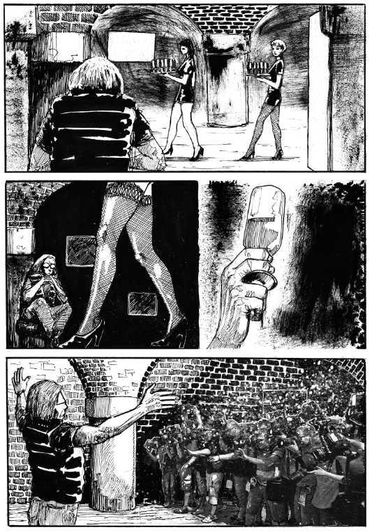 Sztuka. Komiks szczeciński kadr 2