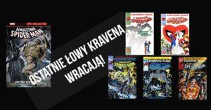 Ostatnie Łowy Kravena wracają w serii Amazing Spider-Man Epic Collection