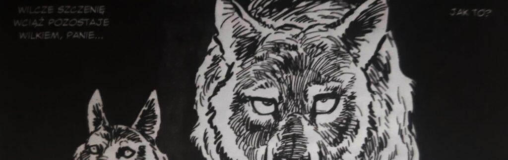 Samotny wilk i szczenię. Tom 1. Szlak śmierci