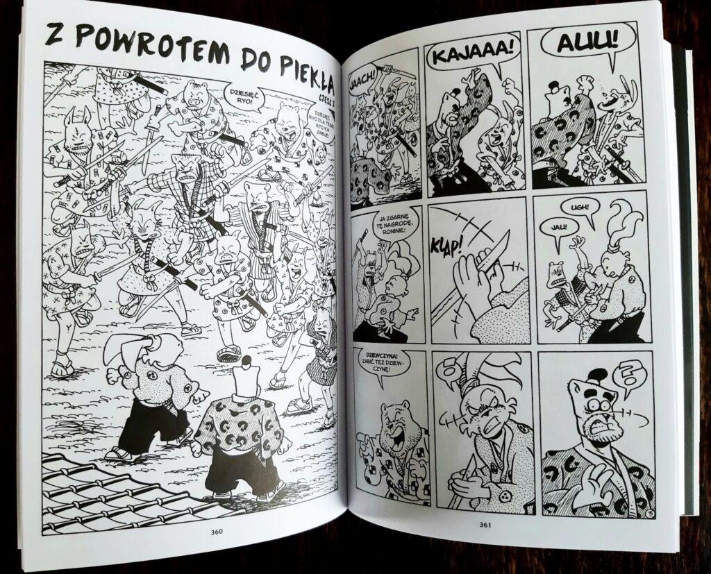 Usagi Yojimbo Saga. Księga 7