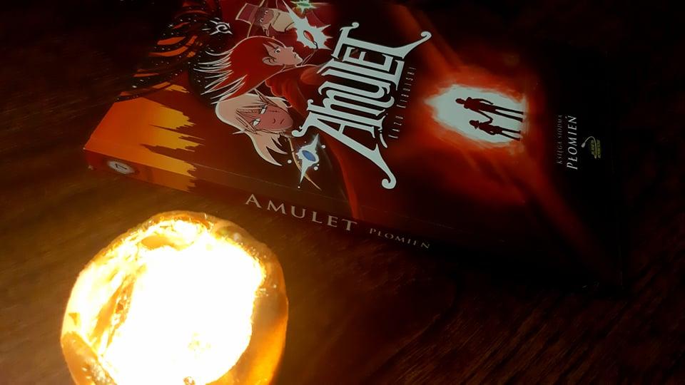 Amulet. Księga siódma. Płomień