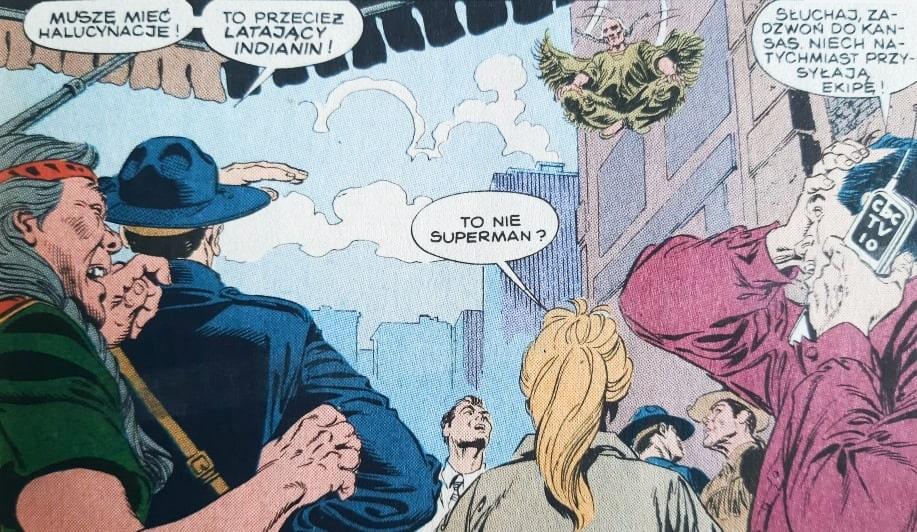 Ognisty wilk w Smallville